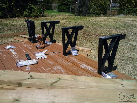 Deck Bench Bracket by Building A Corner Bench With Brackets Madness Method