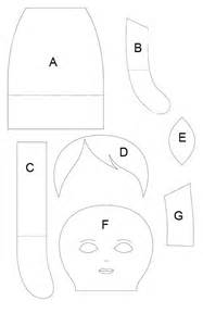 fabric doll template rag doll patterns on doll patterns rag dolls