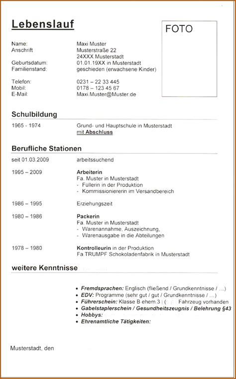 Lebenslauf Doc by 19 Lebenslauf Doc Vorlagen123 Vorlagen123