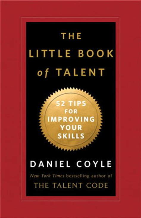 small secrets books the book of talent 52 tips for improving your