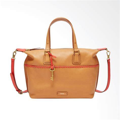 jual fossil shb 1675277 satchel shoulder tas wanita