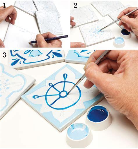 piastrelle fai da te azulejos fai da te come decorare le piastrelle