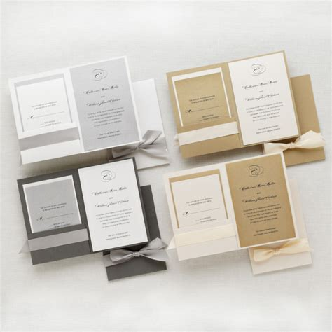 Stylish Wedding Invitations by Stylish Duet Wedding Invitation Wedding Invitations