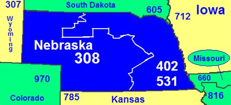 Area Code 402 Lookup Area Codes 402 And 531