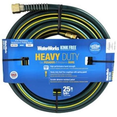 waterworks flexrite 5 8 in dia x 25 ft water hose
