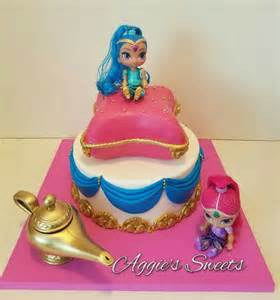 shimmer and shine birthday cake aggie s sweets pinterest birthday cakes birthdays and cakes