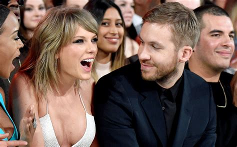 taylor swift dating someone calvin harris says dating taylor swift is absolutely