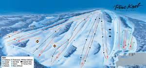 pine knob ski resort ski trail map 7778 sashabaw rd