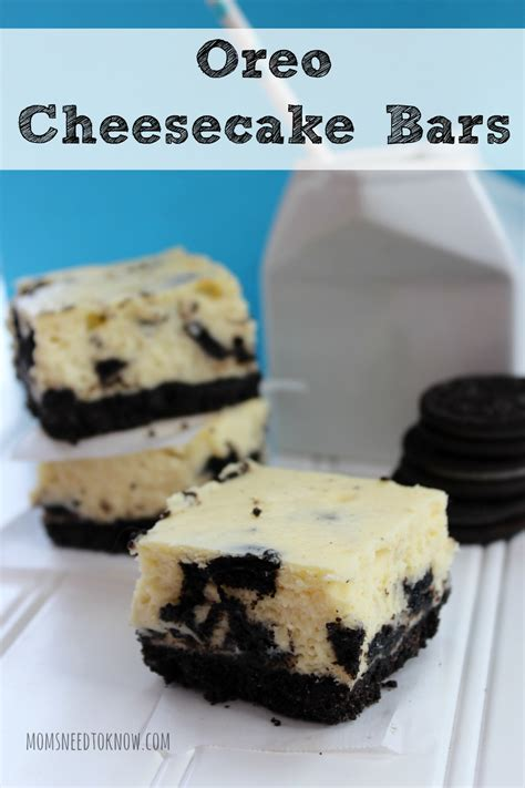 oreo cheesecake mom and fancy drinks on pinterest oreo cheesecake bars recipe moms need to know
