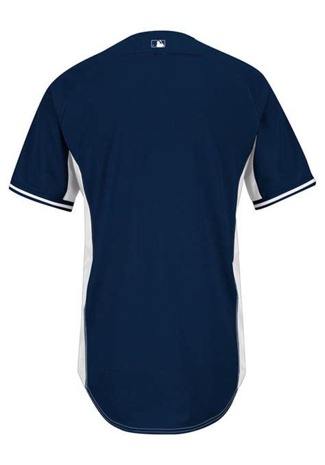 jersey design navy blue detroit tigers mens majestic batting practice jersey