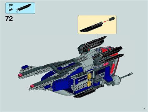 Lego Wars 75046 lego coruscant gunship 75046