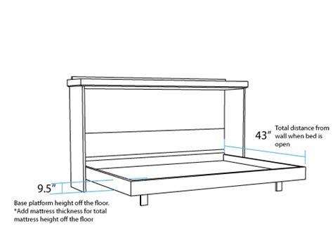 extra long twin bed dimensions horizontal dimensions murphy beds portland