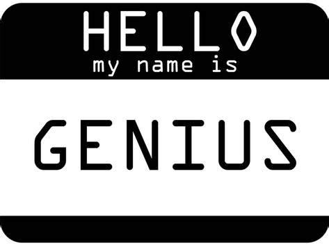 my name is genius posters na allposters br