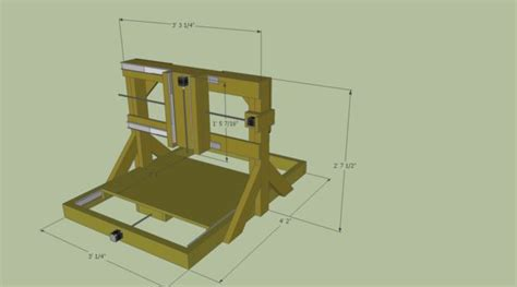 Diy Cnc Router Table Pdf Plans Building Indoor Bench Freepdfplans Pdfwoodplans Diy Cnc Router Plans How To Build 2