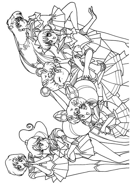 sailor moon coloring book coloring book for and adults 60 illustrations best coloring books volume 31 books coloring page sailormoon coloring pages 71