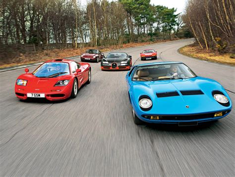 porsche ferrari lamborghini fascination supersport legends from four decades