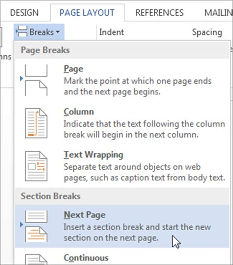 what is a section break in microsoft word ms word remove headers and remove footers from multiple