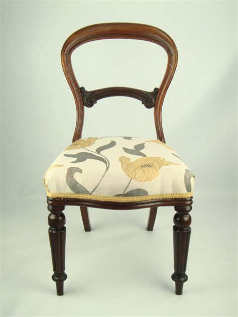 balloon armchair victorian chair back
