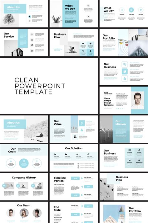 pehela clean minimal powerpoint template