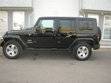 Jeeps For Sale Alberta 2010 Jeep Wrangler Unlimited 4wd For Sale Vehicles