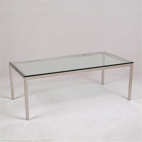 Florence Knoll Coffee Table Florence Knoll Rectangular Coffee Table Modernclassics