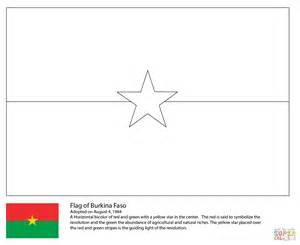 coloriage drapeau du burkina faso coloriages 224