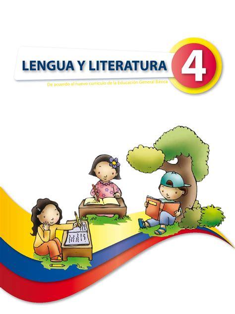 libro novedad 2011 lengua y libro de lengua y literatura 4to a 241 o by quito ecuador issuu
