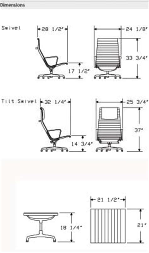 eames aluminum chair dimensions eames aluminum soft pad office task desk chairs by