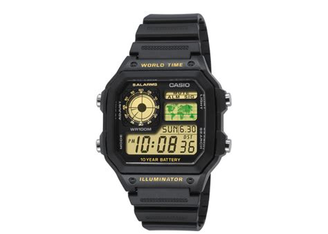 Casio Ae 1200wh 1bv Original watchband casio ae 1200wh 1bv horlogeband