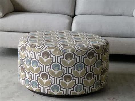 how to build a round ottoman how to make a round ottoman coffee table