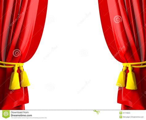 vorhang theater realistischer theater vorhang stock abbildung bild 31770624