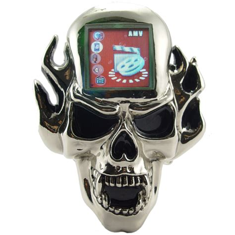 mp skull mp3 brutally kitsch mp3 skull belt buckle