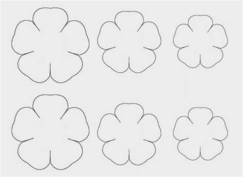 moldes de flores de papel moldes para flores de papel china tulipas pe 244 nias l