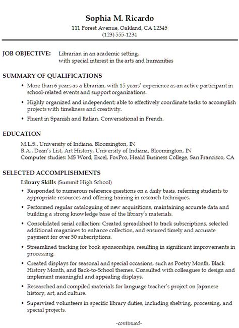 exles of assistant resumes resume objective exles library assistant resume