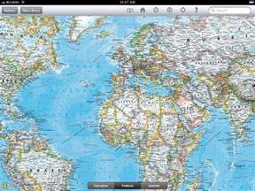 the map room review national geographic world atlas hd