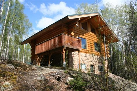 Houses In Alaska by Log Homes For Sale In Wasilla And Palmer Ak Alaska Real