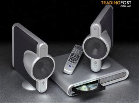 kef kit    virtual home theatre system  hand