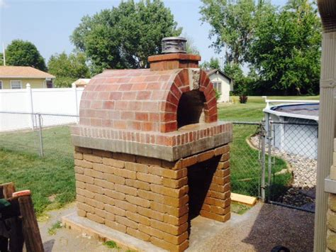 backyard wood fired pizza oven brickwood ovens martens wood fired outdoor pizza oven in michigan