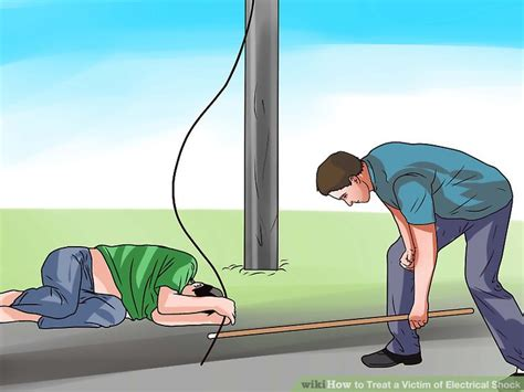 how to treat a victim of electrical shock with pictures