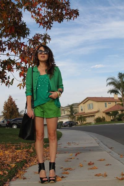Blazer Minakoes chartreuse zara shorts olive green vintage blazers teal zara blouses quot different green quot by