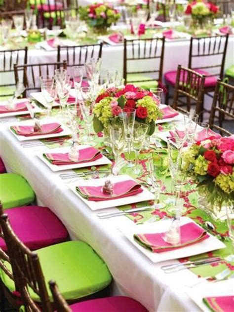 green table decorations quinceanera color palette ideas linentablecloth