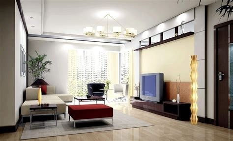 model living room modern house
