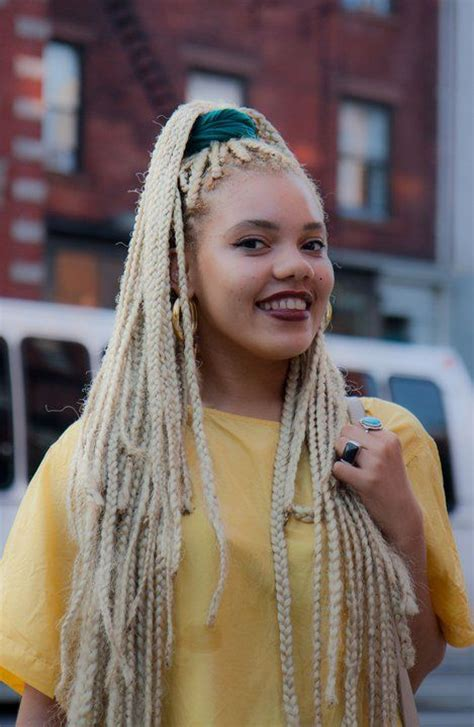 blonde and black box braids 49 best images about blond box braids un ruly com on