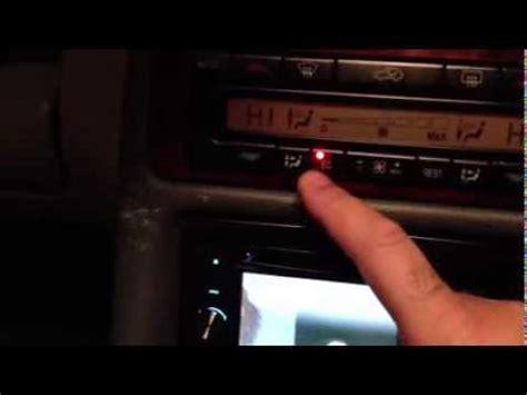 ec light won t turn on mercedes clk230 simple fix