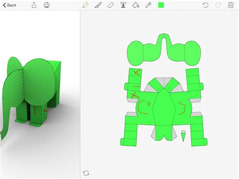 Folding Paper Animals - foldify zoo create print and fold paper animals best