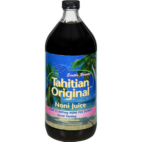 Noni Juice Tahitian tahitian noni juice earth s bounty tahitian original