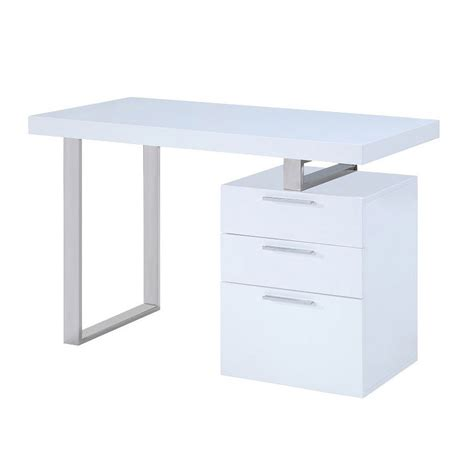 Sienna Sleek Modern Office Desk City Schemes Sleek Office Desk