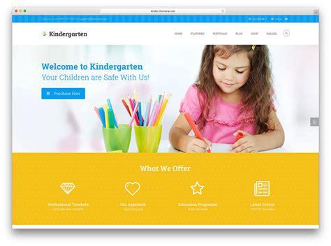 top 15 kindergarten and elementary school wordpress themes
