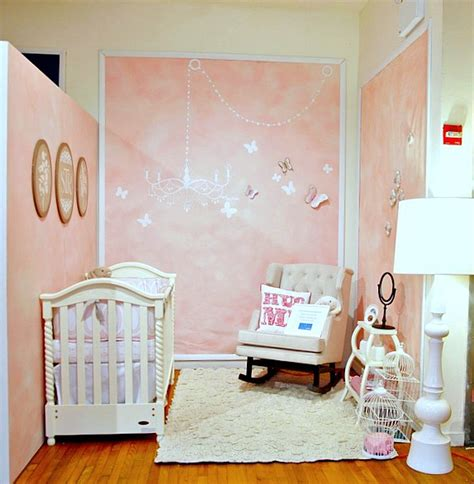 pink chandelier for nursery baby shower nyc edition vol 2
