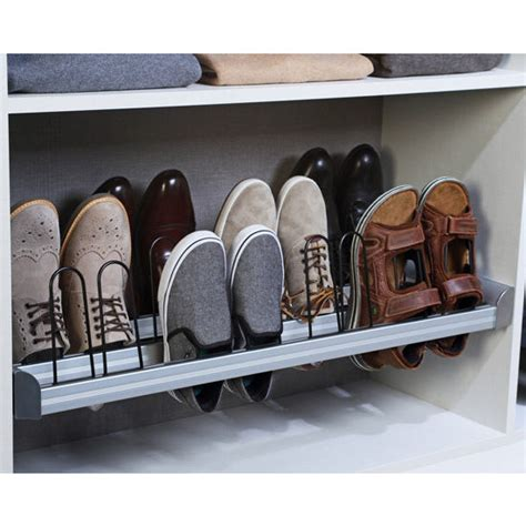 pull out shoe storage engage pull out shoe organizer with extension slides